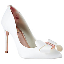 Buy Ted Baker Skalett Stiletto Heel Bow Court Shoes Online at johnlewis.com