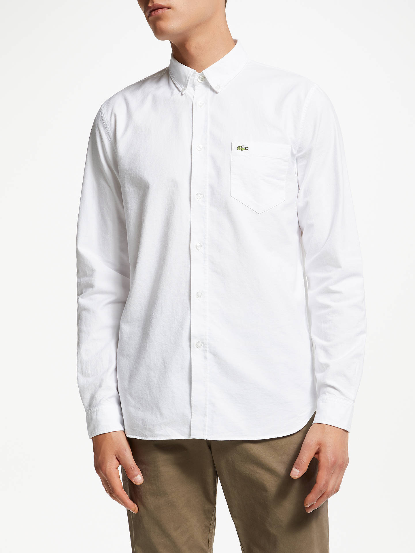 670df154c Buy Lacoste Long Sleeve Oxford Shirt