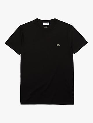 Lacoste Pima Crew Neck Short Sleeve T-Shirt
