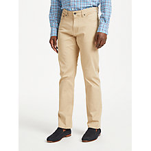 Buy GANT Twill Regular Jeans Online at johnlewis.com