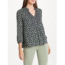 Buy Velvet by Graham & Spencer Alabama Multi Print Top, Multi Online at johnlewis.com