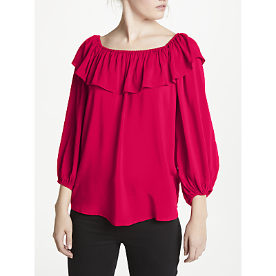 Velvet by Graham and Spencer Off-Shoulder Top, Vixen