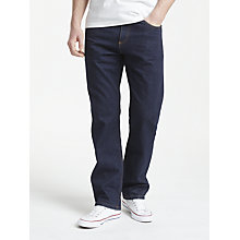 Buy John Lewis Straight Rinse Wash Denim Jeans Online at johnlewis.com