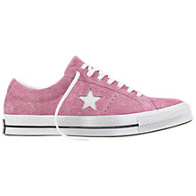 Buy Converse One Star Suede Trainers Online at johnlewis.com