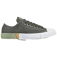 Buy Converse Chuck Taylor Canvas Trainers, Green Online at johnlewis.com