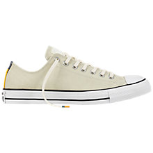 Buy Converse Chuck Taylor Canvas Trainers, Egret/Black/White Online at johnlewis.com