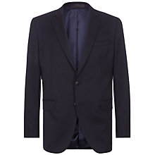 Buy Jaeger Regular Fit Wool Blazer, Navy Online at johnlewis.com