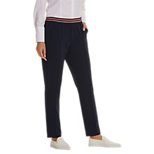 Buy Betty Barclay Pull-On Trousers, Dark Sky Online at johnlewis.com