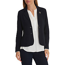 Buy Betty Barclay Textured Blazer, Dark Sky Online at johnlewis.com