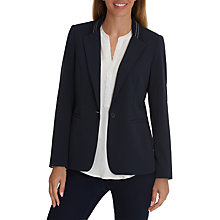Buy Betty Barclay Sporty Tailored Blazer, Dark Sky Online at johnlewis.com