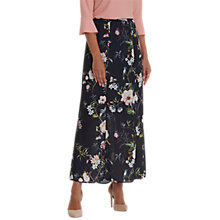 Buy Betty Barclay Floral Print Maxi Skirt, Dark Blue/Rose Online at johnlewis.com