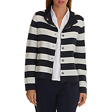 Buy Betty Barclay Striped Cardigan, Dark Blue/Cream Online at johnlewis.com