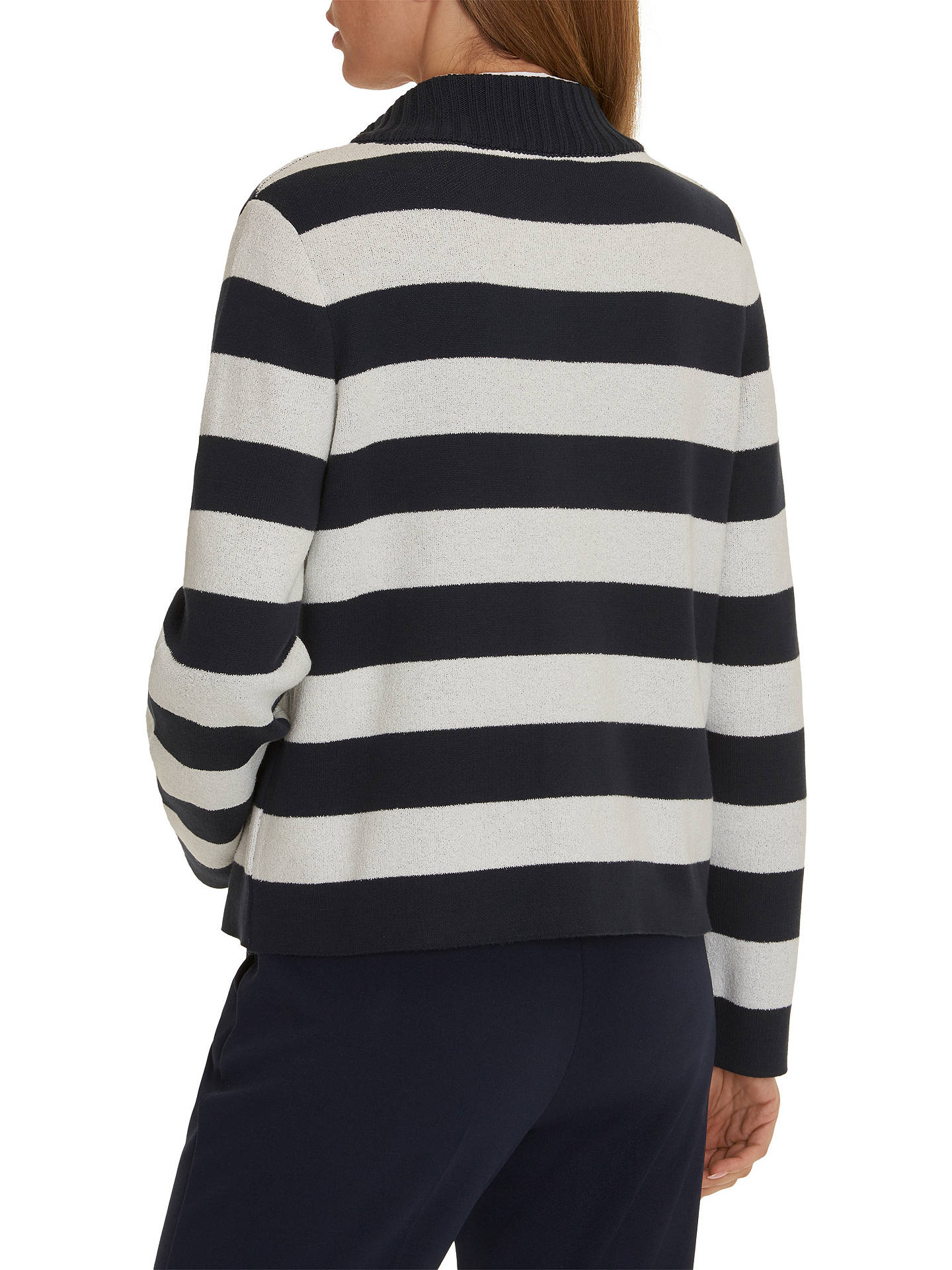 Buy Betty Barclay Striped Cardigan, Dark Blue/Cream, 10 Online at johnlewis.com