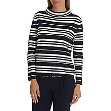 Buy Betty Barclay Striped Knit Top, Dark Blue/Cream Online at johnlewis.com