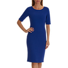 Buy Betty Barclay Short Sleeved Dress, Deep Ocean Online at johnlewis.com