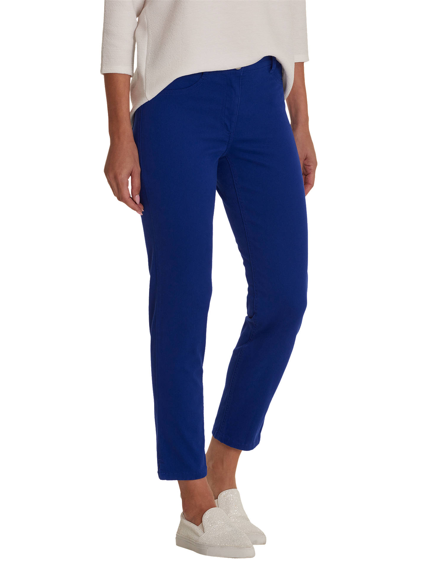 Buy Betty Barclay Slim Fit Jeans, Deep Ocean, 20 Online at johnlewis.com