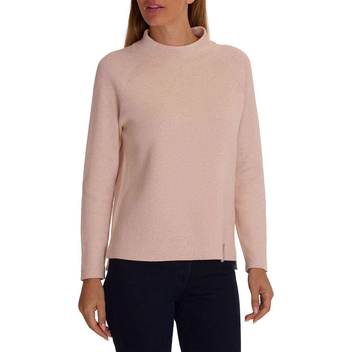BuyBetty Barclay Double Knit Jumper, Light Rose Melange, 10 Online at johnlewis.com