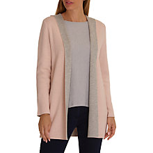 Buy Betty Barclay Double Knit Hooded Cardigan, Light Rose Melange Online at johnlewis.com