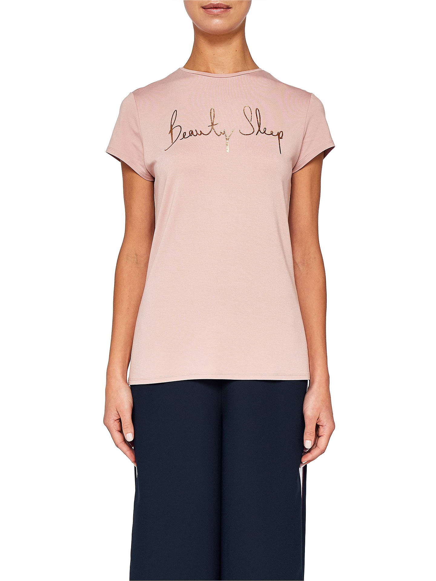 14c6858073a8d5 Buy Ted Baker Ted Says Relax Stelta Beauty Sleep Logo T-Shirt