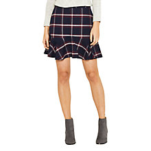 Buy Oasis Check Flippy Skirt, Multi Online at johnlewis.com