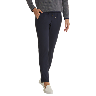 Betty Barclay Sporty Pull On Trousers, Dark Sky