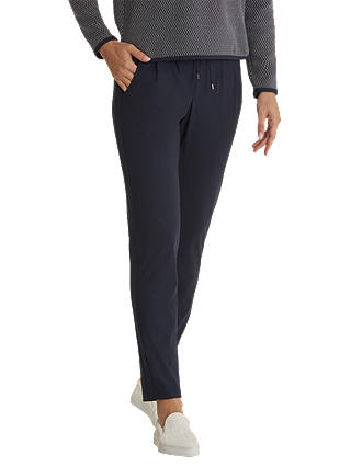 Buy Betty Barclay Sporty Pull On Trousers, Dark Sky, 8 Online at johnlewis.com