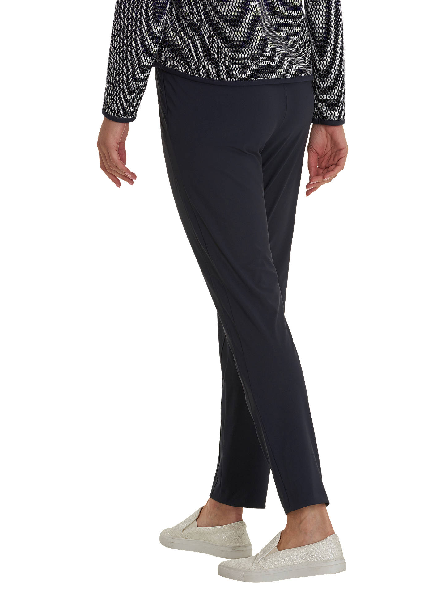 BuyBetty Barclay Sporty Pull On Trousers, Dark Sky, 8 Online at johnlewis.com