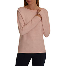 Buy Betty Barclay Ribbed Knit Jumper, Light Rose Melange Online at johnlewis.com