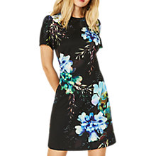 Buy Oasis Fairytale Shift Dress, Multi/Black Online at johnlewis.com