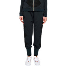 Buy Ted Baker Ted Says Relax Lizeeba Lace Trim Joggers, Navy Online at johnlewis.com