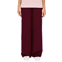 Buy Ted Baker Ted Says Relax Yuli Grosgrain Side Stripe Wide Leg Trousers Online at johnlewis.com