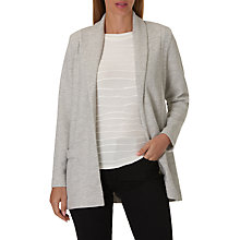 Buy Betty Barclay Long Cardigan Jacket, Stone Grey Online at johnlewis.com