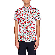 Buy Ted Baker Marka Floral Short Sleeve Shirt Online at johnlewis.com