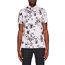Buy Ted Baker Scruff Floral Print Polo Shirt Online at johnlewis.com