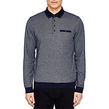 Buy Ted Baker Setta Long Sleeve Polo Shirt Online at johnlewis.com
