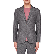 Buy Ted Baker Snipes Relaxed Fit Blazer, Grey Online at johnlewis.com