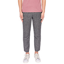 Buy Ted Baker Snipes Relaxed Fit Suit Trousers, Grey Online at johnlewis.com