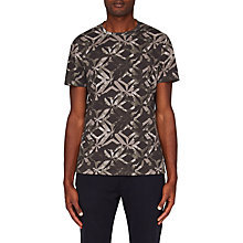 Buy Ted Baker Woof Geometric Print T-Shirt Online at johnlewis.com