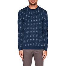 Buy Ted Baker Crazy Geometric Blend Jumper Online at johnlewis.com