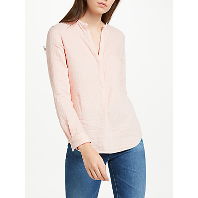 Hartford Carta Dyed Blouse, Whisper