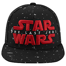 Buy Star Wars Children's The Last Jedi Embroidered Baseball Cap, Blue/Red Online at johnlewis.com