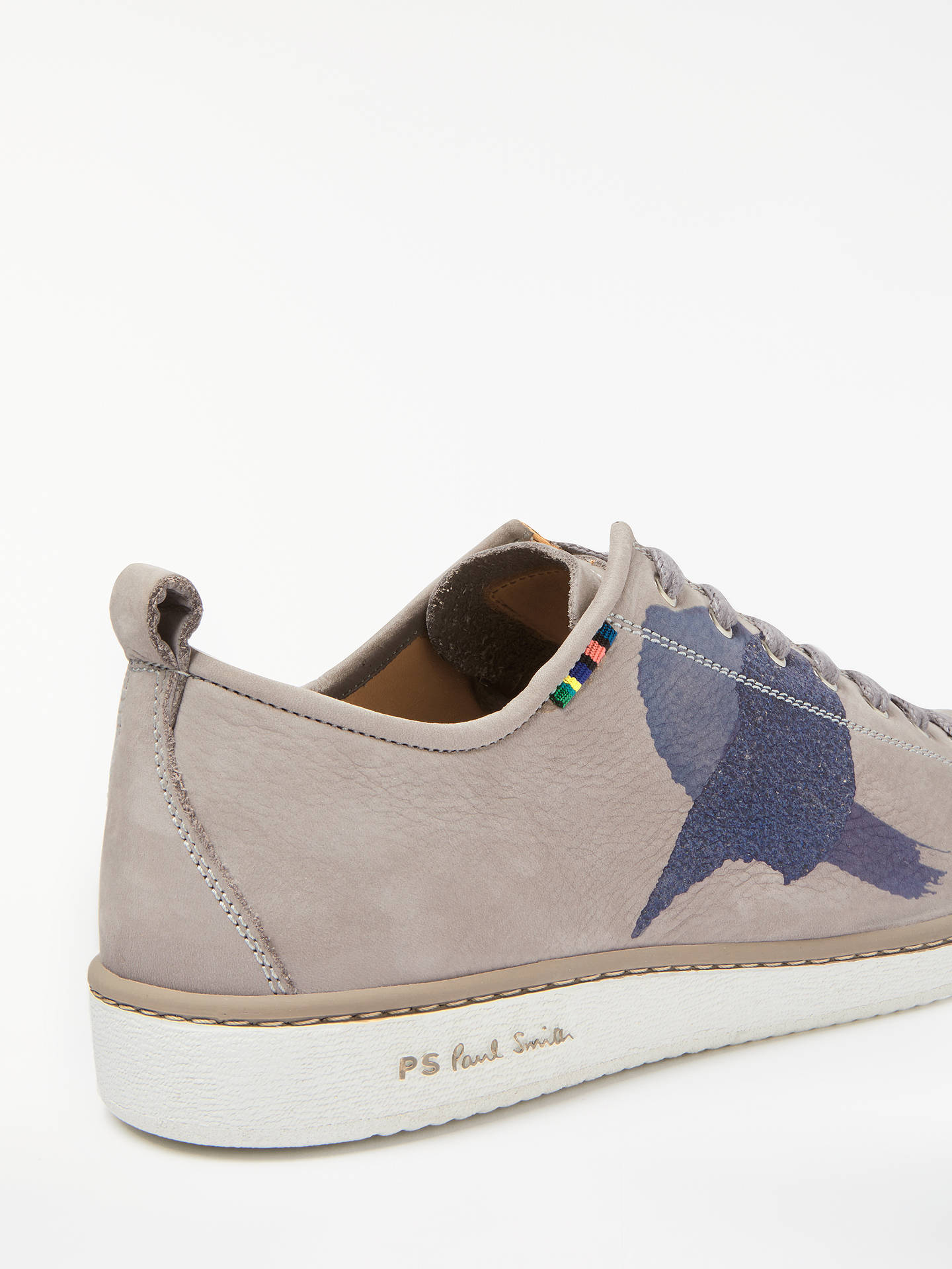 Buy PS Paul Smith Miyata Trainers, Grey, 7 Online at johnlewis.com