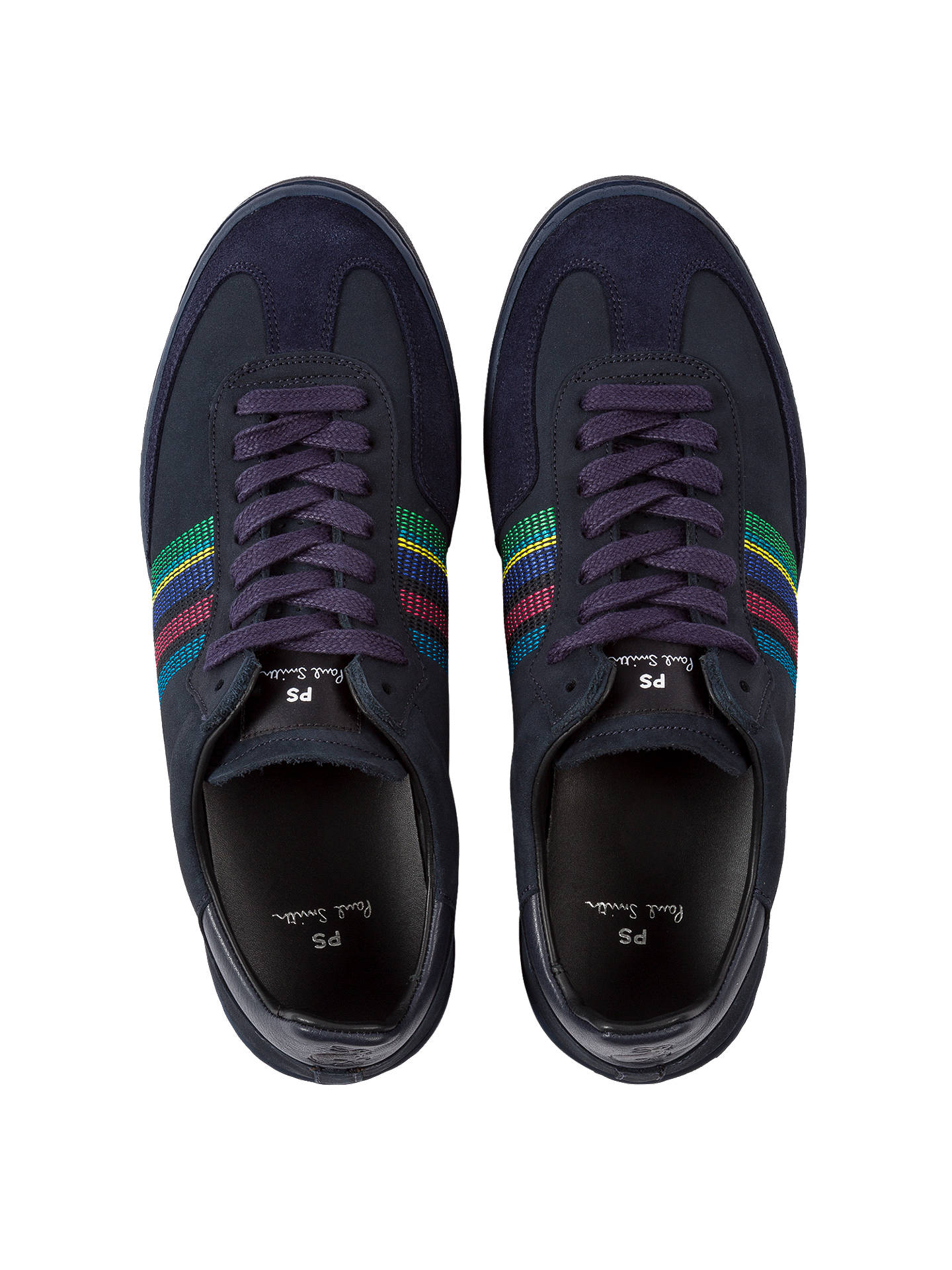BuyPS Paul Smith Yuki Trainers, Blue, 7 Online at johnlewis.com