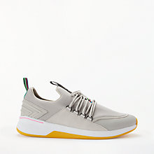 Buy PS Paul Smith Jersey Trainers, Grey Online at johnlewis.com