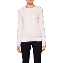 Buy Ted Baker Sakarie Bow Sleeve Jumper Online at johnlewis.com