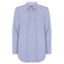 Buy Mint Velvet Contrast Stripe Shirt, Multi Online at johnlewis.com