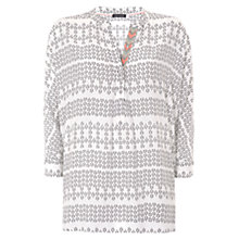 Buy Mint Velvet Hannah Print Oversized Top, Multi Online at johnlewis.com