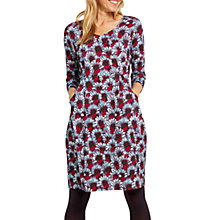 Buy White Stuff Fiona Floral Dress, Purple Online at johnlewis.com