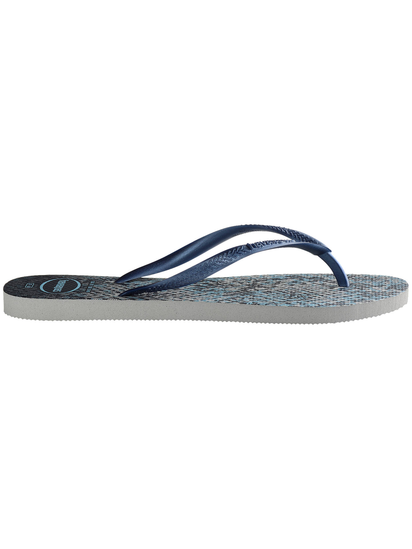 f21125434d3 Havaianas Slim Animal Print Flip Flops at John Lewis   Partners