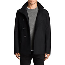 Buy AllSaints Melrose Peacoat Online at johnlewis.com